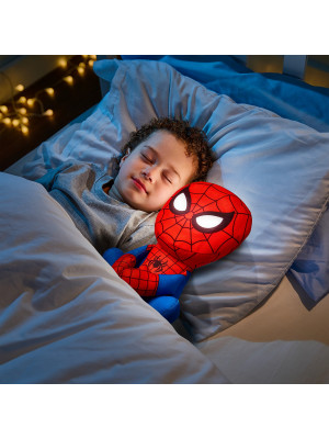Peluche et veilleuse lumineuse  Go Glow modele Pal Marvel Heroes Spiderman