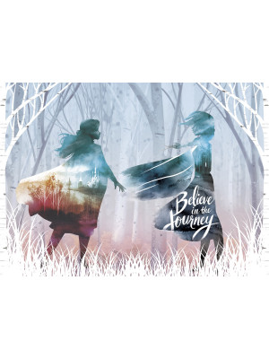 Poster Intissé - Disney La Reine des Neiges 2 - modèle Believe in the journey 160 cm x 110 cm