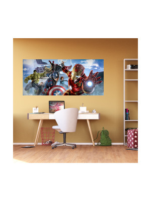 Poster géant Avengers Movies Marvel intisse 202X90 CM