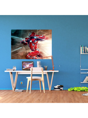 Poster M Iron Man Graphic Marvel intisse 160X115 CM