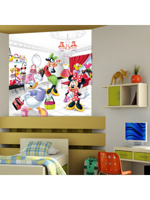 Papier peint XL intisse La Boutique de Minnie Mouse Disney 180X202 CM