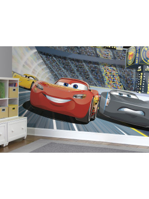 Papier peint Panoramique Surestrip (pose sans colle) Cars 3 Disney 320X182 CM