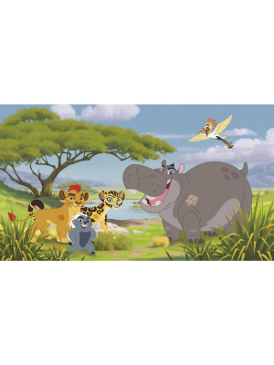 Papier peint Panoramique Surestrip (pose sans colle) La garde du Roi lion Disney 320X182 CM