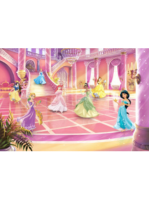 Papier Peint Photo Les Princesses Disney au bal 368cm x 254cm