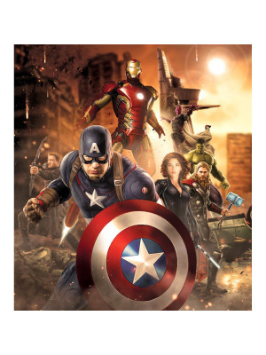 Papier peint XL Avengers Movie Marvel 180X202 CM