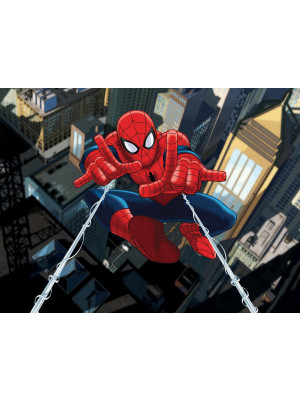 Papier peint initissé Spiderman City Marvel 360X255 CM