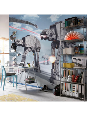 Papier Peint AT-AT Empire Contre Attaque Star Wars 254X368 CM