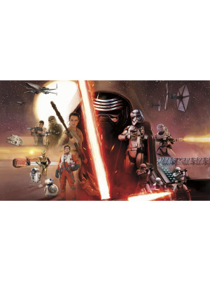 Papier peint Panoramique Surestrip (pose sans colle) Star Wars EP VII 320X182 CM