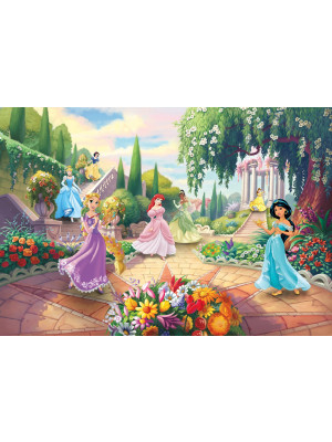 Papier Peint Photo Les Princesses Disney au parc 368cm x 254cm