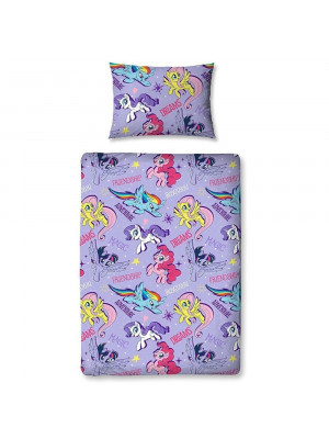 Parure de lit junior My Little Pony Polycoton