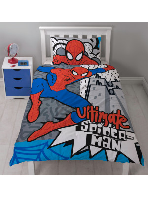 Parure de lit réversible Spiderman Ultimate Marvel