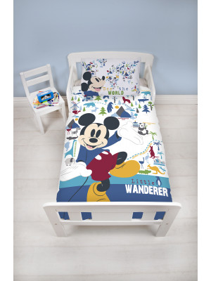 Parure de lit Junior Mickey Mouse Wanderer Disney