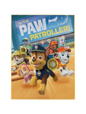 Tapis Pat Patrouille - to the Paw Patroller - 95x125cm