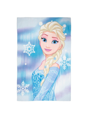 Plaid polaire Elsa Reine des Neiges Disney