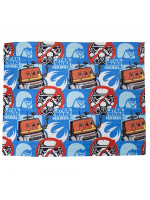 Plaid polaire réversible Stormtrooper Star Wars Rebels