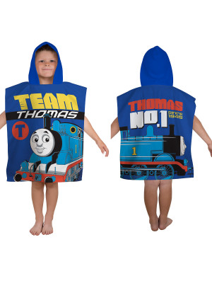 Poncho de bain coton Thomas le Train