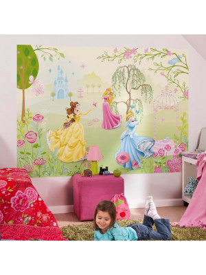 Poster géant jardin des Princesses