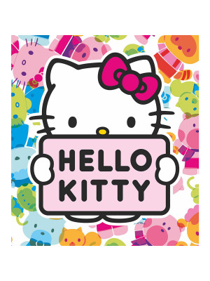 Papier peint XL Hello Kitty Sanrio Multicolors