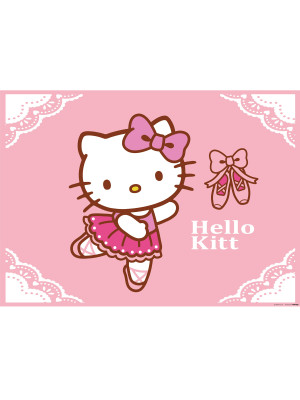 Poster XXL Hello Kitty Ballerines Sanrio