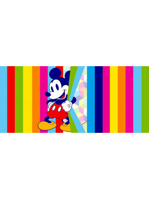 Poster horizontal Mickey Mouse Pop de Disney intisse 202CM X 90CM