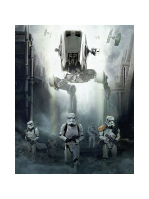 Poster XXL panoramique Forces Impériales Star Wars 200X250 CM
