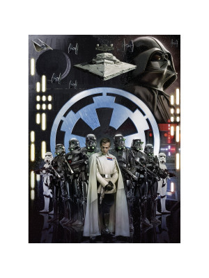 Poster XXL panoramique intissé motif L'empire Star Wars 200X275 CM