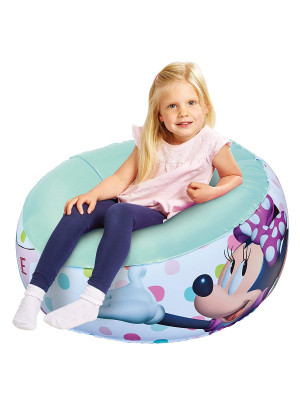 Fauteuil gonflable Minnie Mouse Disney