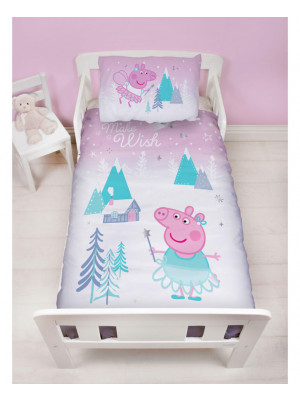 Parure de lit junior Peppa Pig Sugarplum