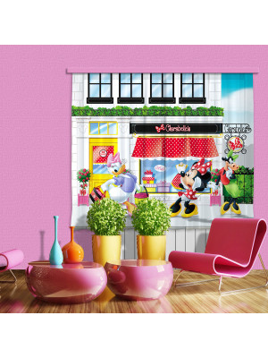 Voilage La Boutique de Minnie Disney