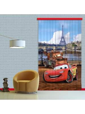 Rideaux Cars à Paris Disney-Occultant : 140x245 cm