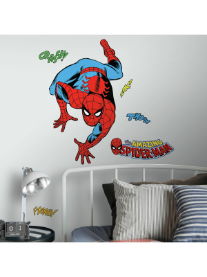 Stickers Géant Spiderman Comics Marvel