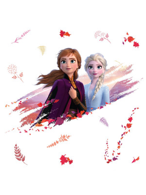Stickers Elsa & Anna La Reine des Neiges 2 Disney