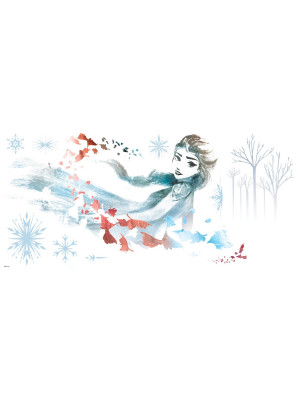 Stickers Elsa La Reine des Neiges 2 Disney Aquarelles et dessins