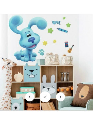 Stickers muraux géants Blue's Clues Nickelodeon