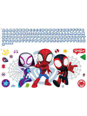 Stickers mural Amazing Spider-man 3 personnages