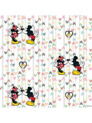 Rouleau Papier peint Mickey & Minnie Mouse Disney