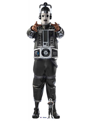 Figurine en carton  DOCTOR WHO Mondassian Cyberman  190  cm