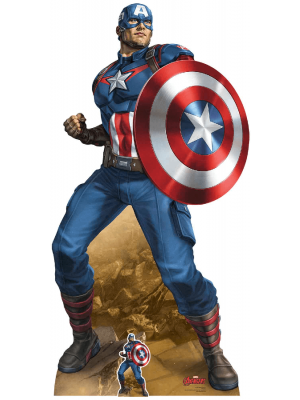 Figurine en carton Marvel Comics Captain America H 184 CM