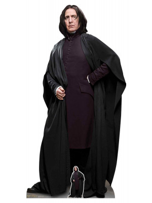 Figurine en carton taille réelle Professeur Rogue debout Film Harry Potter 190 CM