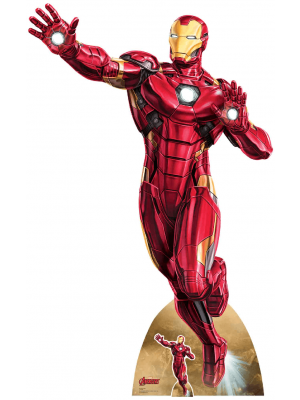 Figurine en carton Marvel Comics Iron Man au décollage H 200 CM