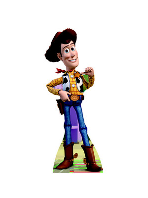 Figurine en carton taille réelle Woody Toy Story H 140 CM