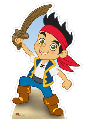 Figurine en carton Jake le Pirate H 91 x L 57 CM