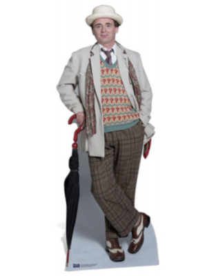 Figurine en carton  DOCTOR WHO Sylvester McCoy  185  cm