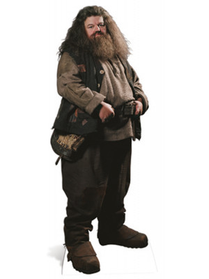 Mini Figurine en carton Rubeus Hagrid en habit ville Film Harry Potter 91 CM
