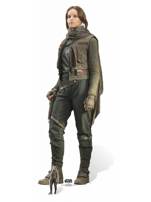 Figurine en carton taille réelle Jyn Erso Star Wars Rogue one H165 CM