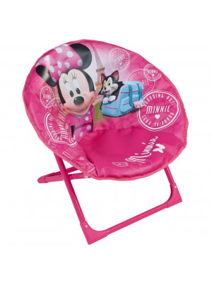 Siège lune Rose Minnie Disney