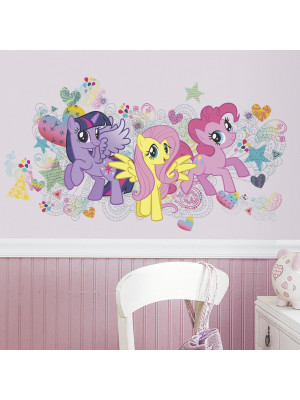 Stickers géant My Little Pony Love