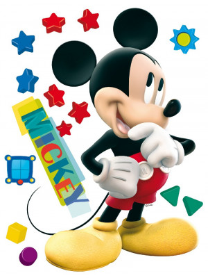 Stickers géant Mickey Disney