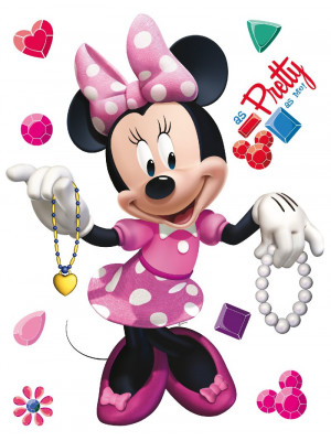 Stickers géant Minnie Disney