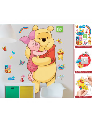 Sticker géant Winnie l'Ourson Disney